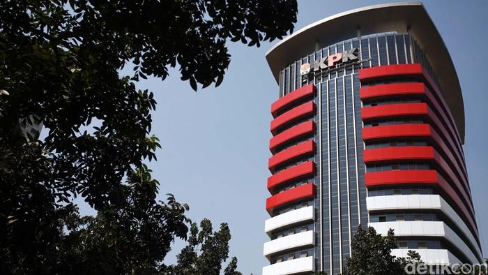 Penampakan Gedung Baru Komisi Pemberantasan Korupsi (KPK) di kawasan Kuningan, Jakarta Selatan