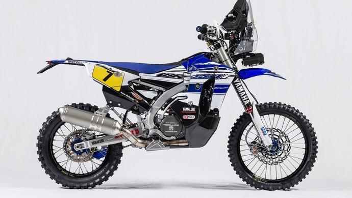 Tampilan Motor Trail Yamaha WR450F untuk Reli Dakar