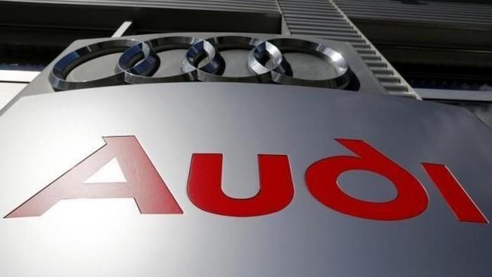 Ilustrasi logo Audi
