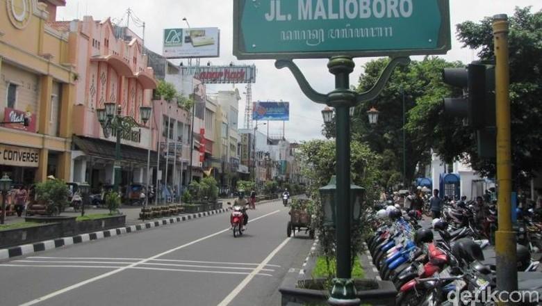Jalan Malioboro (Fitraya/detikTravel)