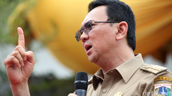 Gubernur DKI Jakarta Basuki Tjahaja Purnama (Foto: Ari Saputra/detikFoto)