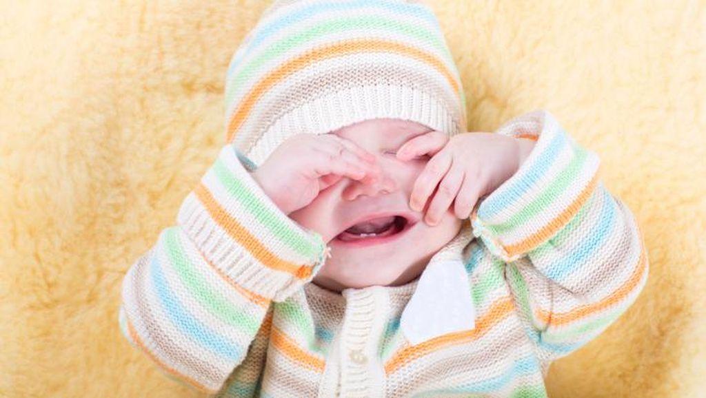 Hiks! Wajah Bayi Ini Melepuh Setelah Pakai Tabir Surya