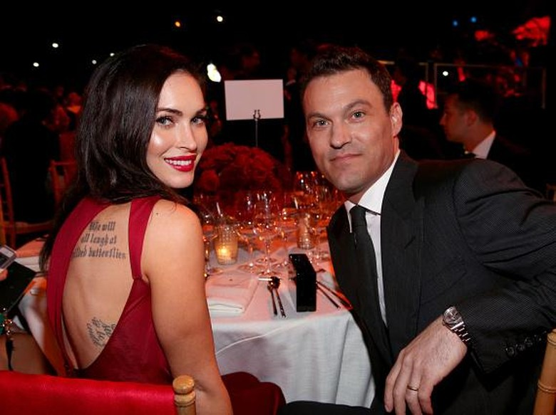 Foto: Megan Fox dan Brian Austin Green (getty Images)