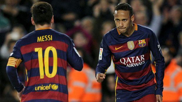 Lionel Messi mengatakan betapa berartinya Neymar bagi Barcelona. (
