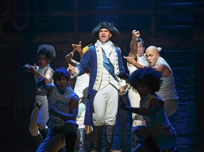 Hamilton menjadi pertunjukan broadway terlaris di Amerika