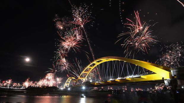 Jembatan Kuning, Ikon Kota Palu yang Tergerus Tsunami
