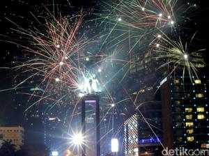 Ini Jalan yang Akan Ditutup Saat Perayaan Malam Tahun Baru di DKI
