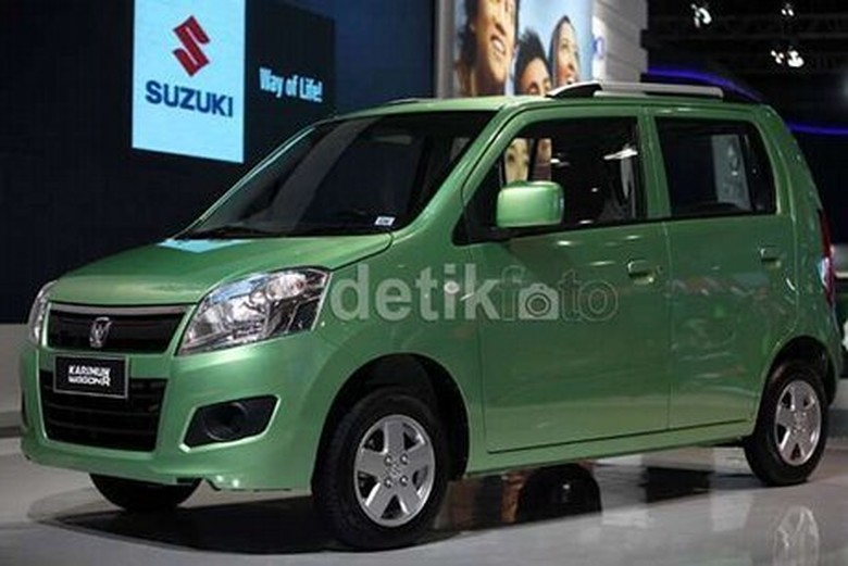 Suzuki Wagon R (Foto: detikOto)