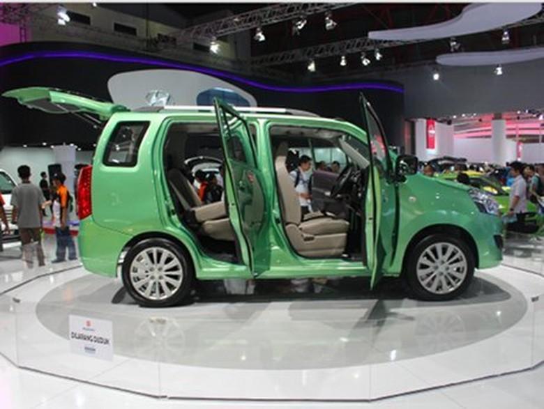 Prototipe Suzuki Wagon R 7 Penumpang. Foto: detikOto