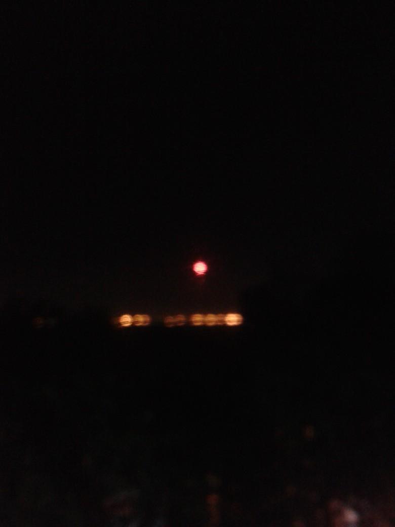 Ini Ciri-ciri Bola Menyala di Langit Jakarta Utara, UFO?