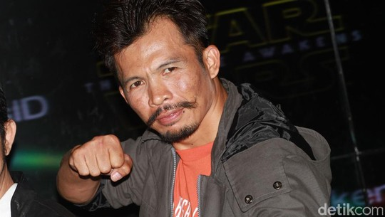 Trio The Raid Eksis di Meet and Greet Star Wars: The Force Awakens
