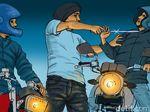 Polisi Duga Pembacok Pria di Cipayung Gerombolan Pemuda Mabuk