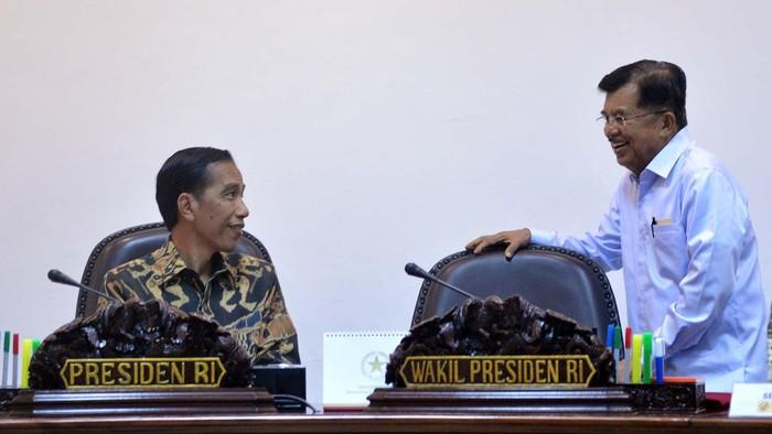 Ilustrasi rapat terbatas Presiden dan Wapres (Foto: Pool)