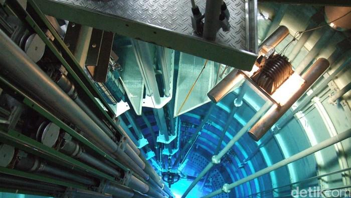 Reaktor nuklir BATAN.   dikhy sasra/ilustrasi/detikfoto