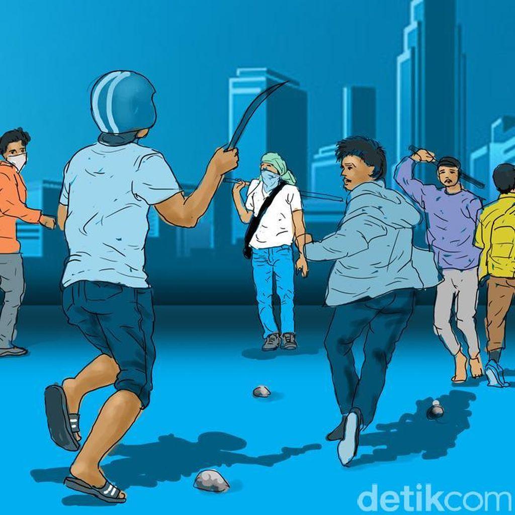 Cerita Warga Lihat Horor Pembacokan di Sukabumi