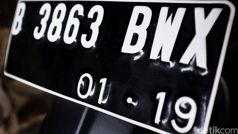 Plat nomor kendraaan palsu. dikhy sasra/ilustrasi/detikfoto