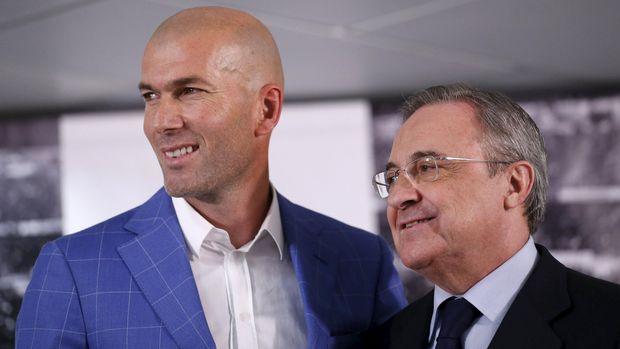 Zinedine Zidane kembali ke Real Madrid diklaim hasil lobi dari Sergio Ramos kepada Presiden Klub Florentino Perez. (