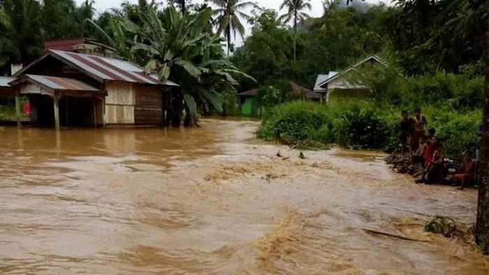 banjir padang, ilustrasi banjir