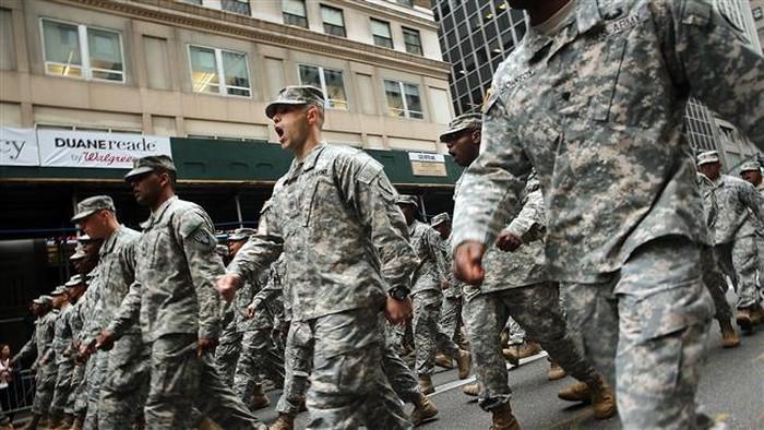 Ilustrasi tentara Amerika Serikat. Foto: AFP PHOTO/FILES