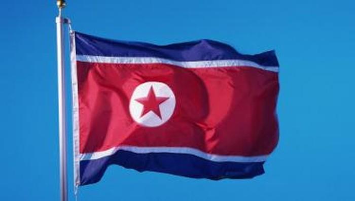 bendera Korut