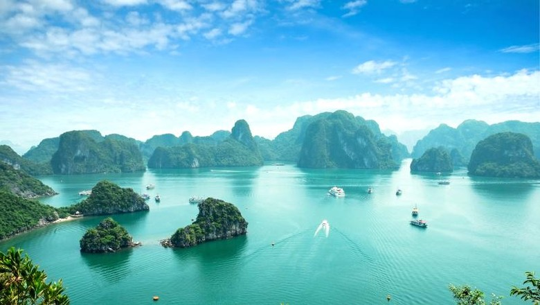 Ha Long Bay, keindahan dari Vietnam (Thinkstock)