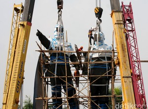 Patung Soekarno-Hatta di Bandara Cengkareng Akan Dipindah