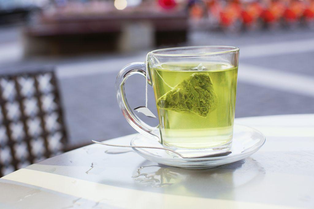Secangkir teh hijau