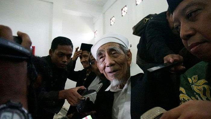 Mbah Moen wafat di usia 90 tahun saat menunaikan ibadah haji. (Foto: Enggran Eko B/detikcom)