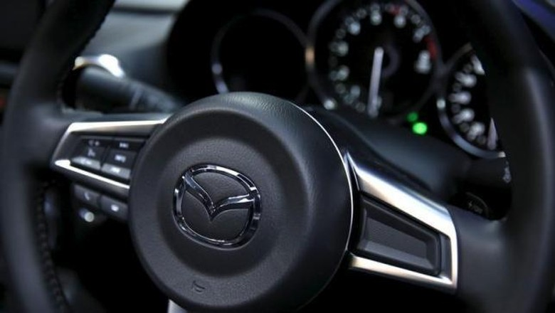 Jawaban Mazda Soal Dirikan Pabrik di Indonesia Foto: Reuters/Issei Kato