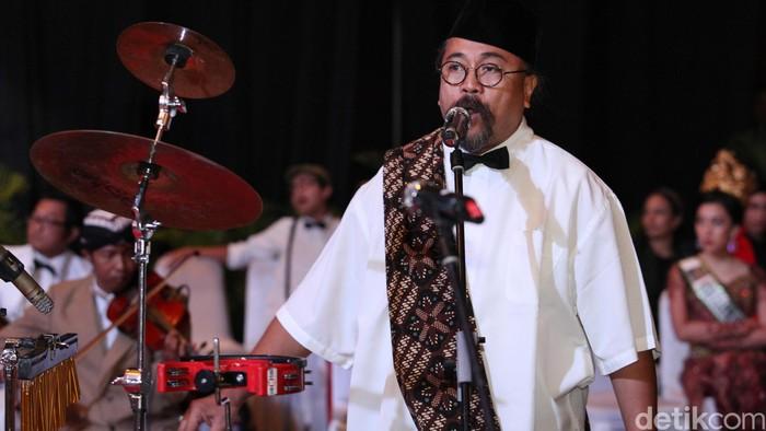 Musisi Djaduk Ferianto (Foto: Ari Saputra)