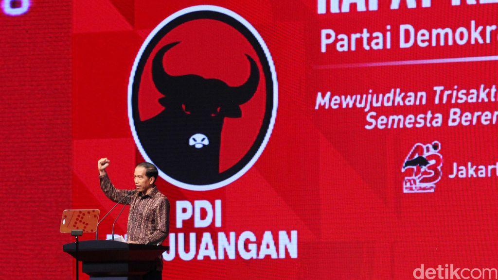 Penentuan Cawapres Jokowi, PDIP: Tergantung Sebelah