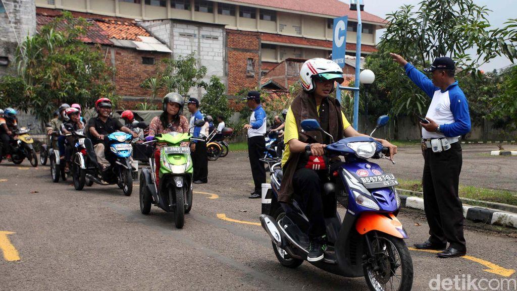 Tes Psikologi SIM Bagian dari Safety Riding dan Driving