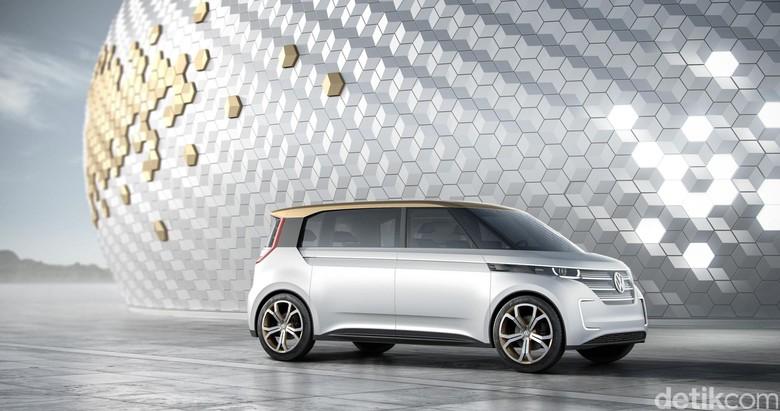 Mobil listrik Volkswagen BUDD-e (Foto: Volkswagen)