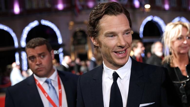 Benedict Cumberbatch ungkap kelanjutan peran dirinya di serial Sherlock. Foto: John Phillips