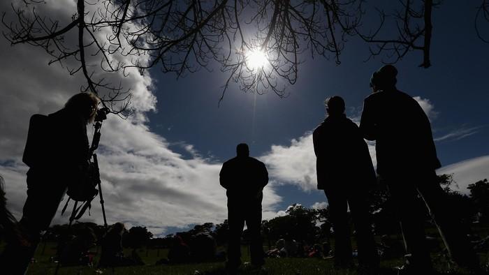 Gerhana matahari (Foto: Istimewa/Getty Images)