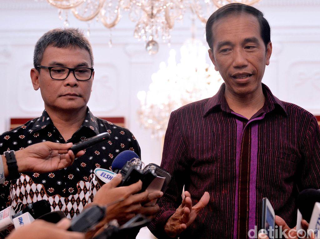 Jokowi Didesak Copot Yasonna soal OTT Kalapas, Ini Kata Istana