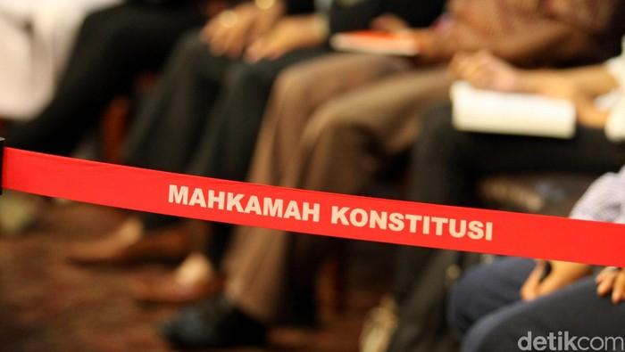 Ilustrasi sidang MK