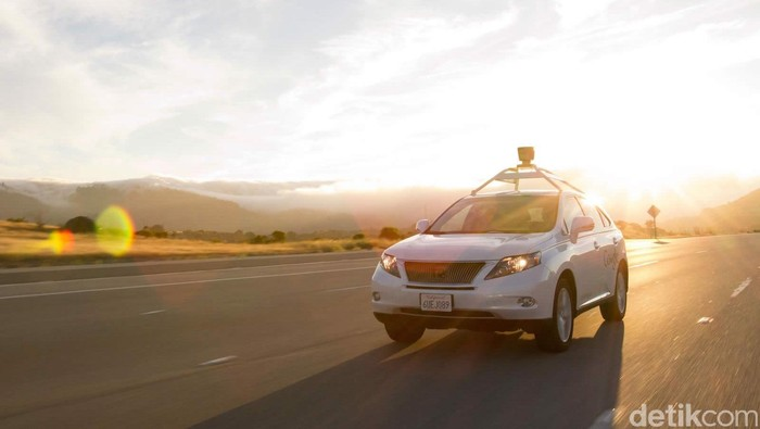 Mobil otonom Google. Foto: Google