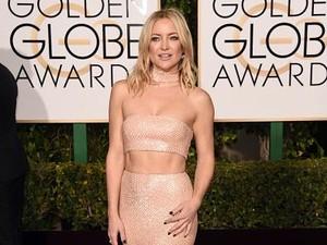 Kate Hudson Pamer Perut Rata di Golden Globes, Ini Rahasianya!