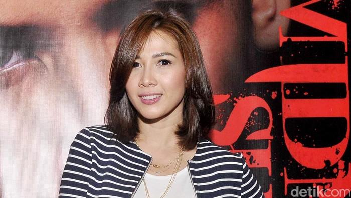 ANdrea Dian saat ditemui di Epicentrum, Kuningan, Jakarta Selatan.