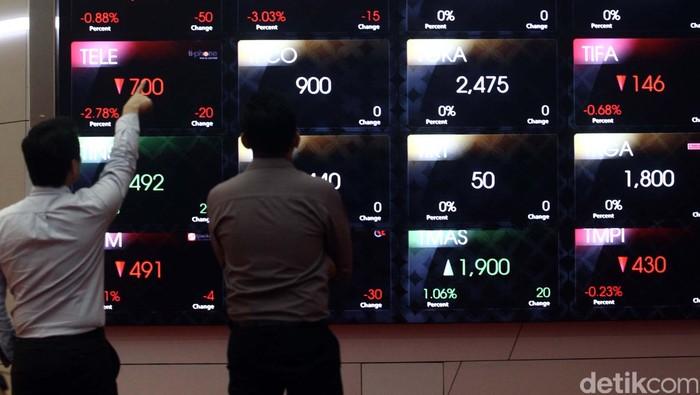 Indeks Harga Saham Gabungan (IHSG) hingga penutupan perdagangan hari ini konsisten bergerak di teritori negatif berbarengan dengan ledakan yang terjadi di Sarinah, Thamrin, Jakarta pusat, siang tadi.