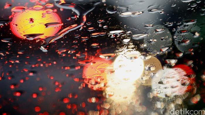 Tetes air hujan di kaca. dikhy sasra/ilustrasi/detikfoto