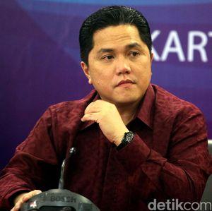 Erick Thohir Blak-blakan Soal New Normal di BUMN