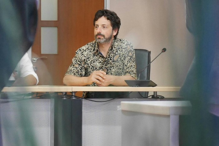 Sergey Brin bertemu berkunjung ke kantor Kementerian Kominfo dan bertemu dengan Menteri Rudiantara