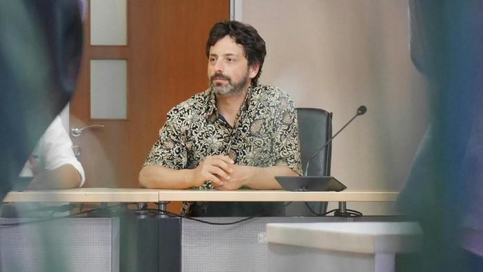 Sergey Brin. Foto: Anggoro Suryo Jati/detikINET