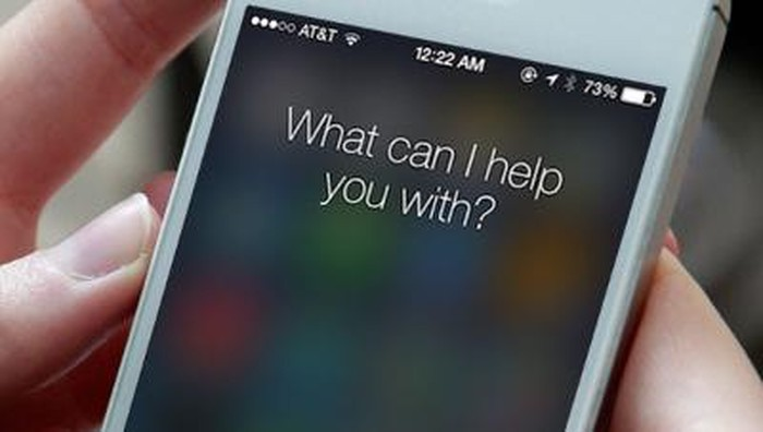 Ilustrasi Siri, asisten virtual Apple. (Foto: Getty Images)