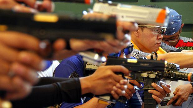 Ilustrasi airsoft gun.