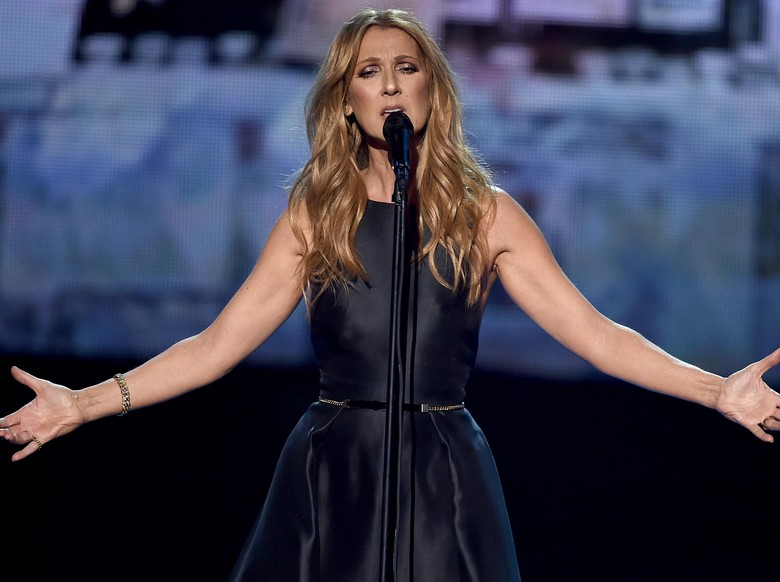 Duh! Celine Dion Diganggu Penonton Mabuk Saat Manggung