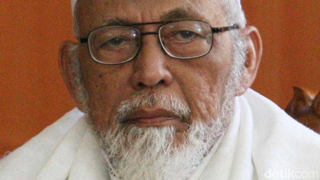 Abu Bakar Baasyir Dikabarkan Sakit, Ponpes Ngruki Minta Doa