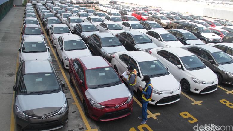 Sedan Vios buatan Indonesia yang siap diekspor Foto: Toyota